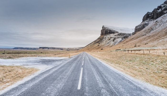 Driving tips in Iceland - camper Iceland